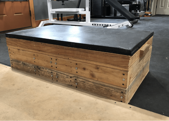 Diy adjustable pulling blocks garage gym lab