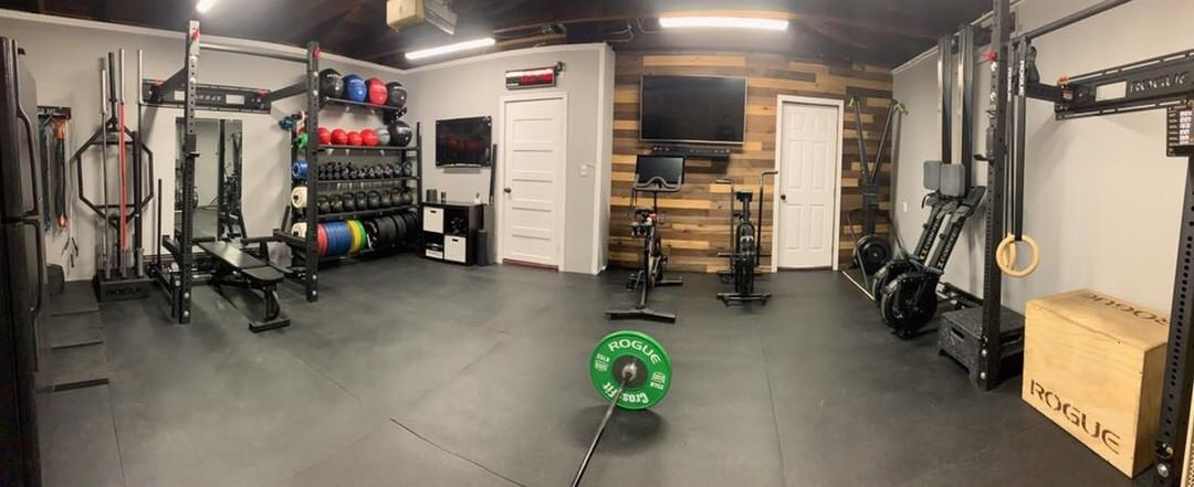 Former gym owner builds epic garage gym garage gym drop in ep