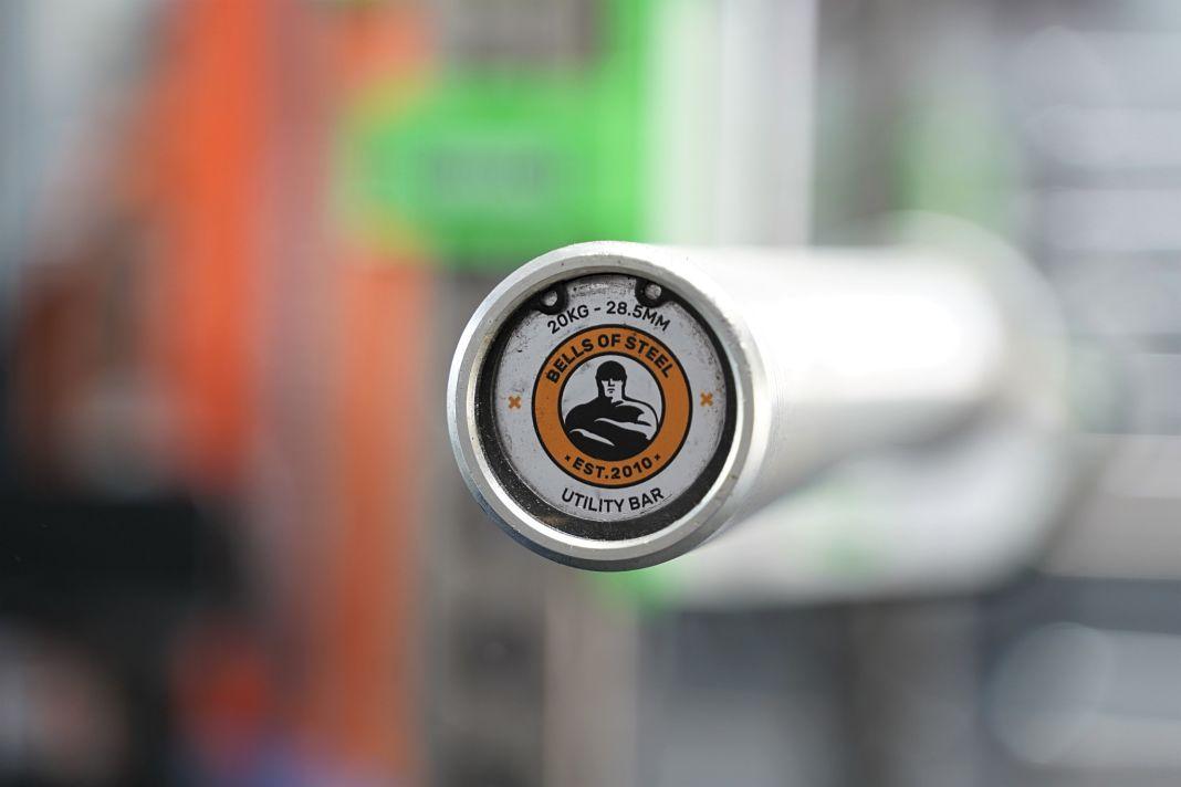 Bells of steel utility bar review garage gym lab