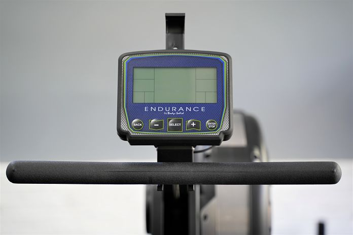 Body Solid R300 Rower - Monitor 2 - Garage Gym Lab