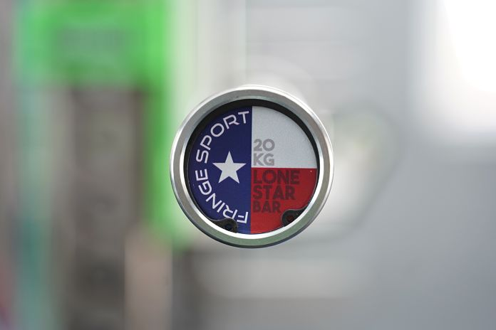 Fringe Sport Lone Star Power Bar - End Cap - Garage Gym Lab