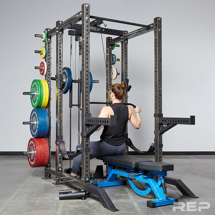 Rep Fitness PR-4000 Rack Release 6 - Garage Gym Lab