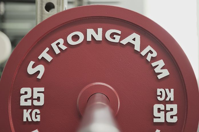StrongArm Sport Calibrated Plate - 25 KG Straight - Garage Gym Lab