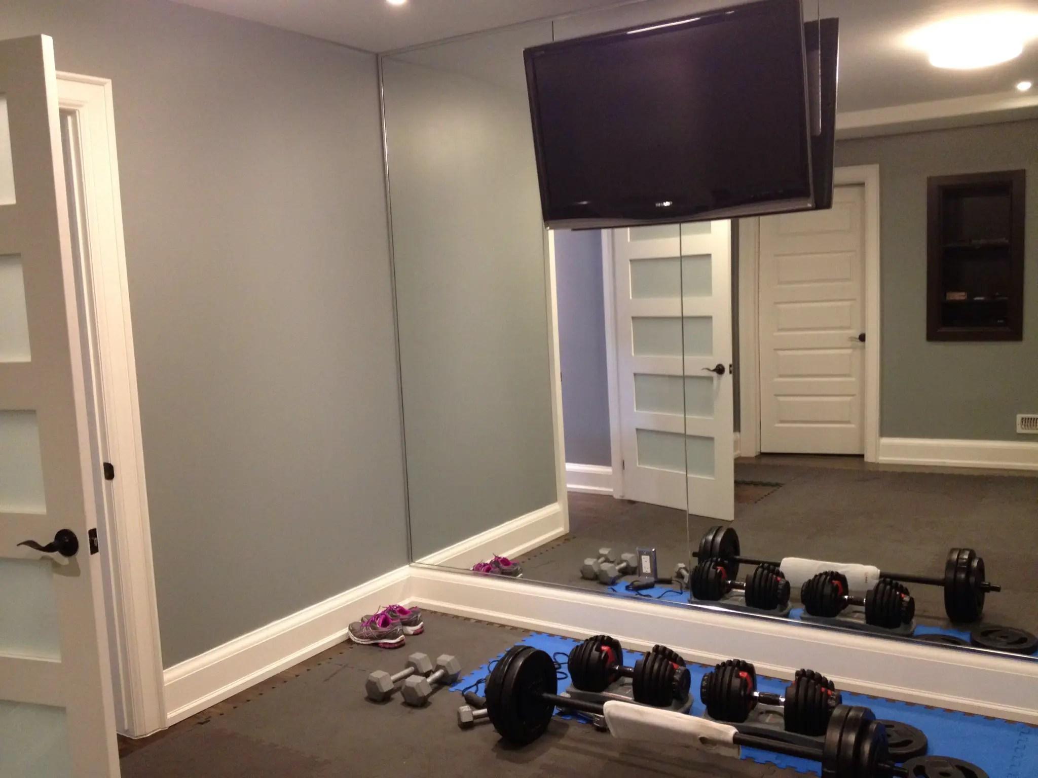 very cheap gym mirrors  Garage Gym Planner Best Home
