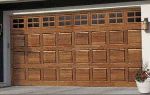 Wood Garage Door