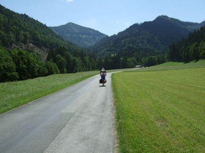 View onto the Regenspitz