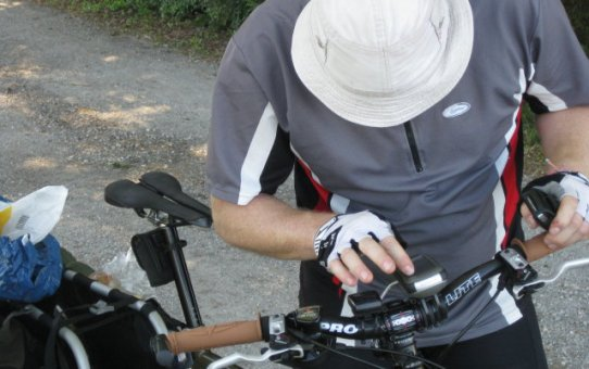 Datarecording am Fahrrad – Garmin Edge 130