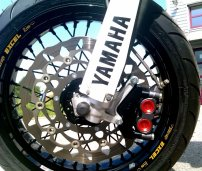 Magura 750 Radialbremszange an Yamaha WR250R