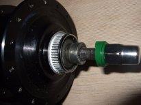 Alfine SG-S500 8-Gang Nabe schmäler machen