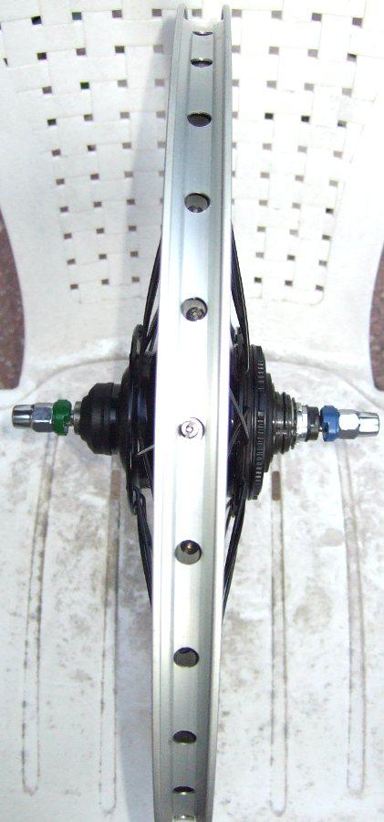 Alfine SG-S500 Hinterrad für 130mm Hinterbau des Tern Verge X10