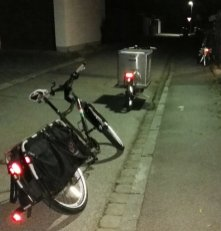 MCS Truck vs. Surly Big Dummy Xtracycle
