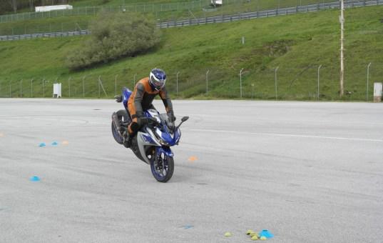 Fahrsicherheitstraining im Salzburgring-Fahrerlager