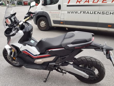 Honda X-ADV am Salzburgring