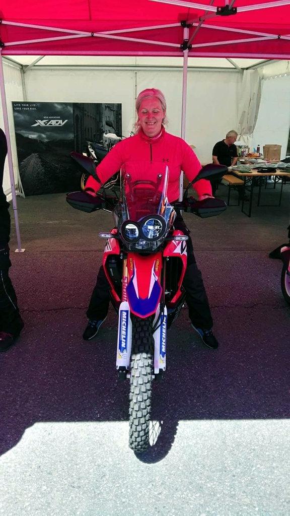 CRF250 Rallye nochmal