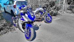 Start Allgäurunde Yamaha MT-07 und YZF-R3