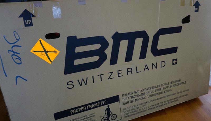 BMC Alpenchallenge Amp Sport LTD im Karton