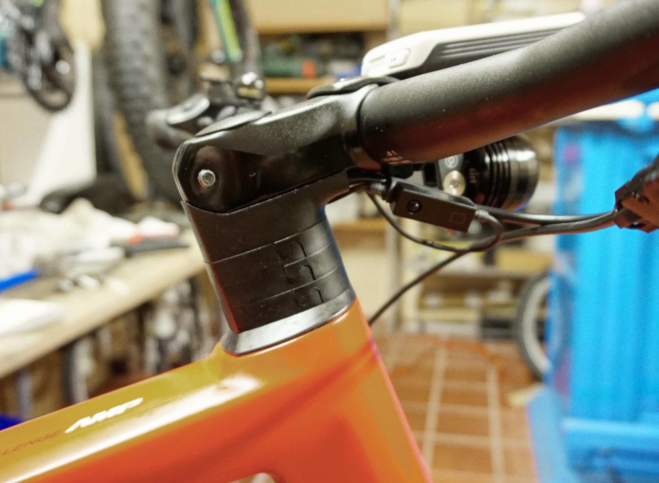 BMC ICS Vorbau 55mm, 0° Neigung auf BMC Alpenchallenge Sport LTD