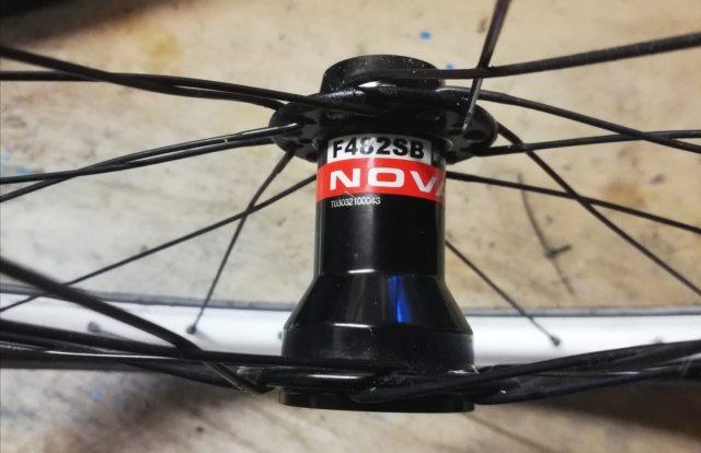 Novatec Superlight Nabe F482SB zerlegt