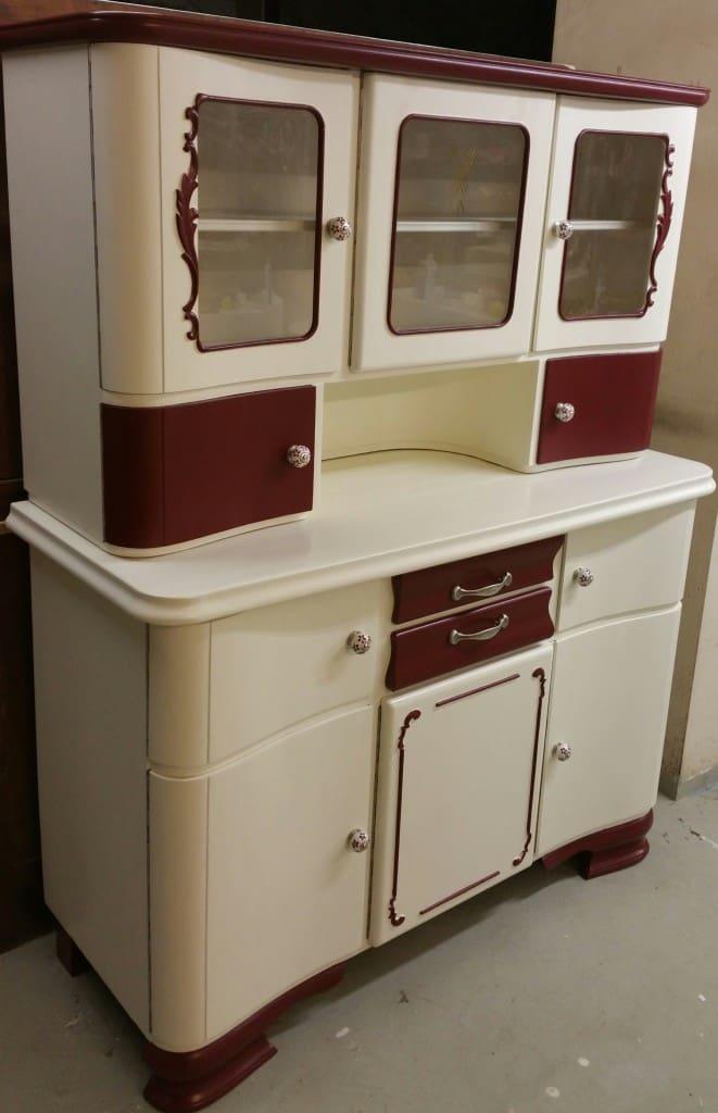 Küchenbuffet, alter Küchenschrank 50er Jahre - Garagenmoebel Küchenbuffet, alte