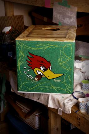 Wild Woodpecker..
