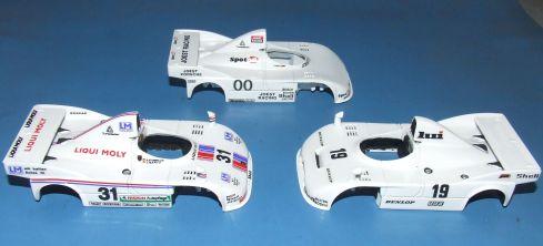 Porsches 908 Bodies
