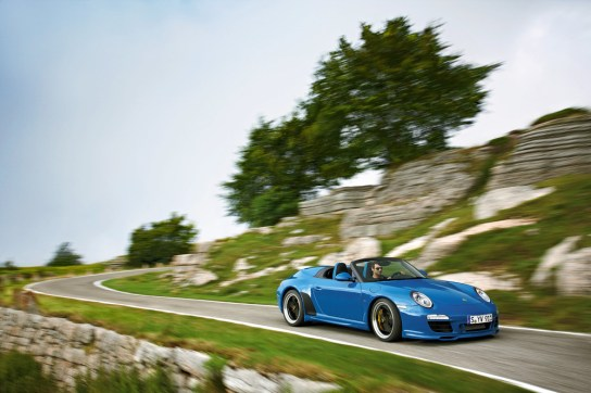 Porsche 911 Speedster, Modelljahr 2011