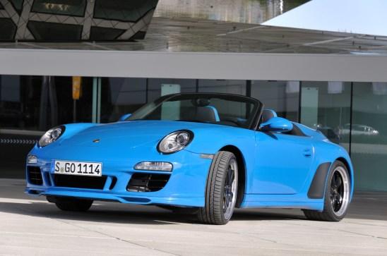Porsche Typ 911 Speedster, Modelljahr 2011