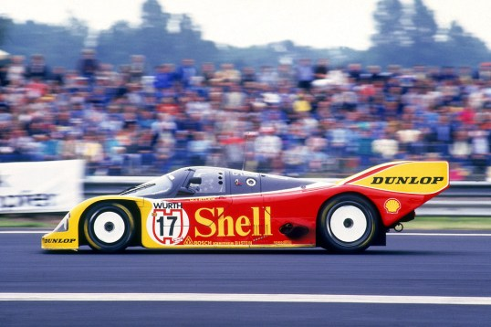 1987, Supercup, 962 C mit PDK mit Hans-Joachim Stuck als Fahrer. ©Porsche AG