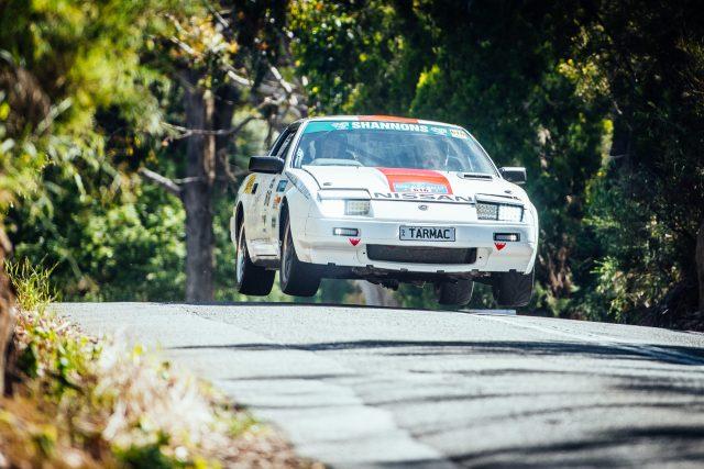 Nissan 300ZX getting air