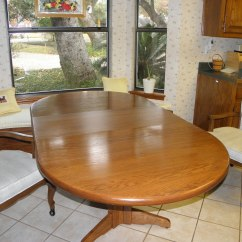 Kitchen Table And Chairs With Wheels Childrens Bean Bag Chair Oval 3 Large On Casters In