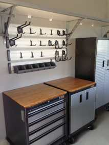 Garage organization gallery image shows storage solutions for garages by Garage Sense