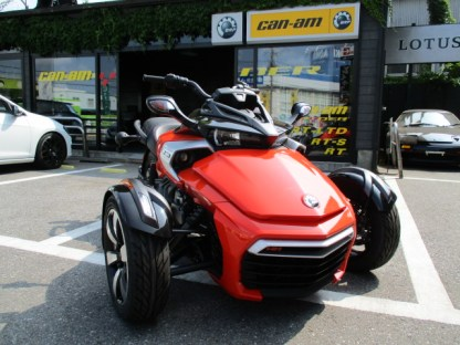 CAN-AM SPYDER F3 2015 カンナムレッド