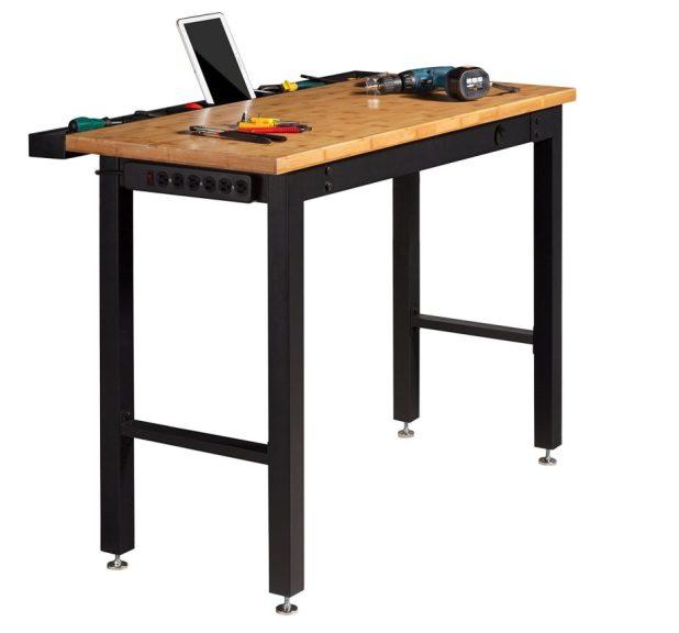 Simple Workbench Plans Garage: A Simple, Elegant & Functional Workbench