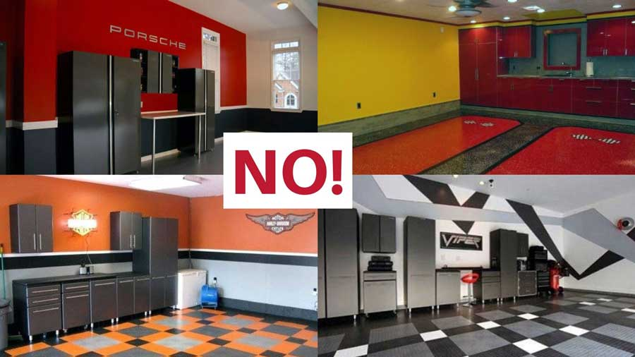 Design Your Dream Garage With These Garage Paint Color Ideas Garage Transformed