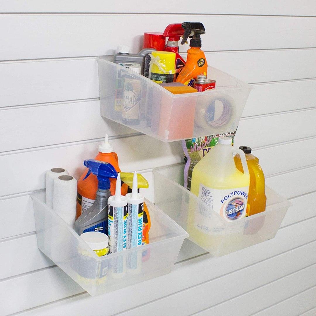 Plastic Garage Bins
