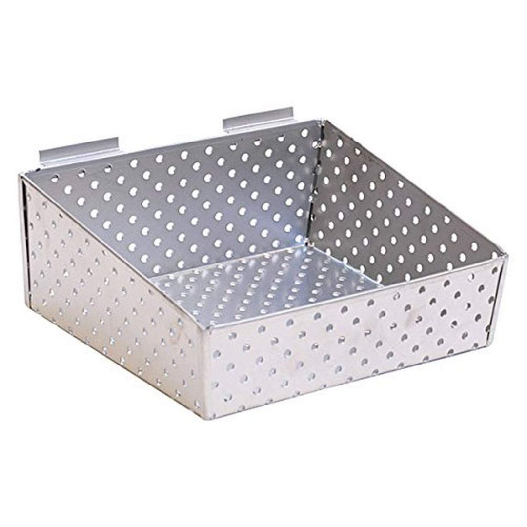 Metal Slatwall Basket