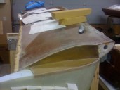 Structural layup number two, after cure and trimmed.
