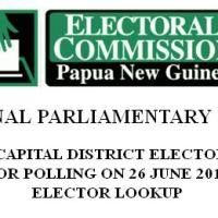 NCD 2012 Electoral Rolls Online