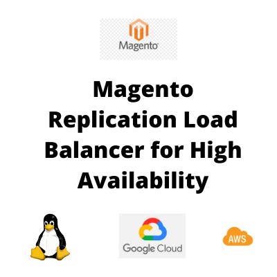 Magento Replication Load Balancer IoT Realtime Backup for