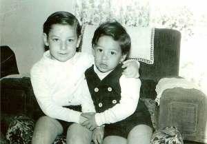 Mi hermano Alfonso y yo