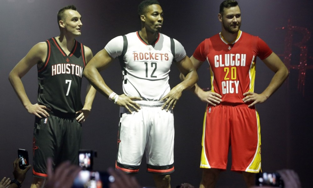 1d46dd42ecf Houston Rockets Unveil New Alternate Uniforms - GARBER SPORTS