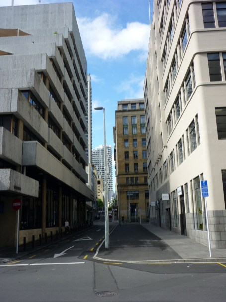 Downtown Auckland , New Zealand