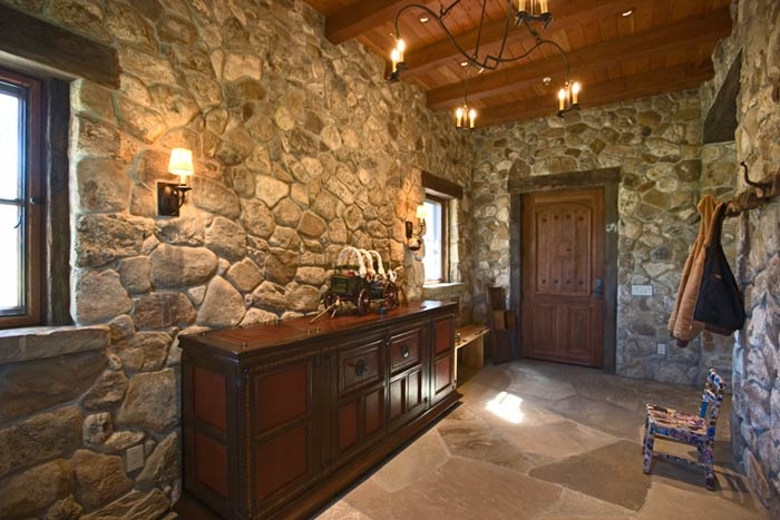 Building A Stone Fireplace Garcia Masonry: Artistic Stonework: Projects