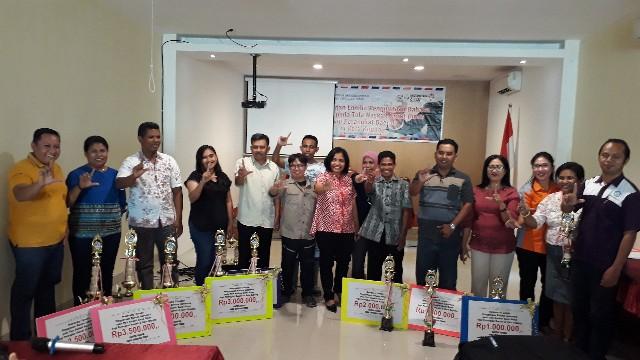 Kecamatan Maulafa dan Biro Hukum Juara Pertama Lomba Penggunaan Bahasa pada Tata Naskah Surat Dinas