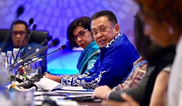 "Ketua DPR RI: ""Pidato Presiden Jokowi dalam IMF-WB, Pidato Era Milenial"""