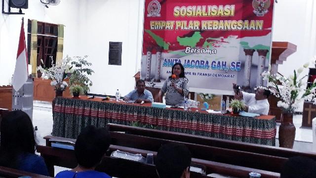 Anita Gah Berteriak Lantang Tentang Peran Kader Posyandu