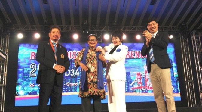 Menteri Yohana Berharap Rotary Indonesia Wujudkan Kesetaraan Gender