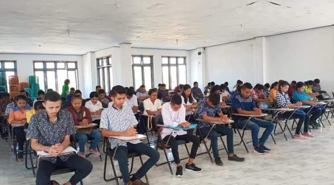 375 Calon Mahasiswa Baru Ikut Seleksi PMB UPG 1945 NTT