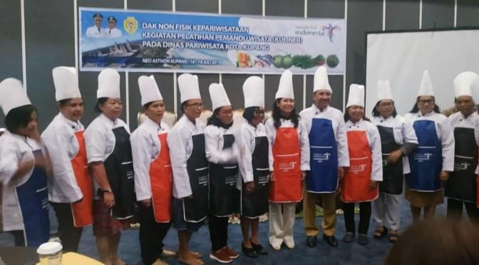 Pemkot Kupang Edukasi & Latih 40 Pemandu Wisata Budaya