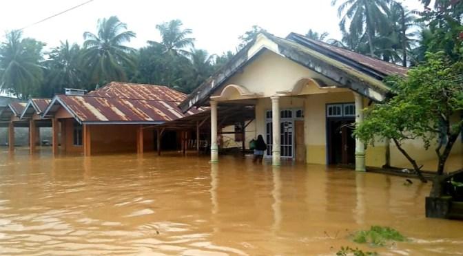Banjir di Banggai Sulawesi Tengah, 1 Orang Tewas & 10 Desa Terdampak
